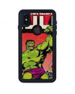 Marvel Comics Hulk iPhone XS Waterproof Case
