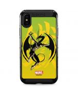 Marvel The Defenders Iron Fist iPhone XS Max Cargo Case