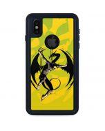 Marvel The Defenders Iron Fist iPhone XS Waterproof Case
