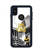 Marvel The Defenders Luke Cage iPhone XS Waterproof Case