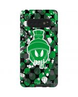 Marvin the Green Martian Galaxy S10 Plus Pro Case