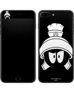 Marvin the Martian Black and White iPhone 8 Plus Skin