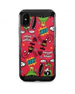 Marvin the Martian Patches iPhone XS Max Cargo Case