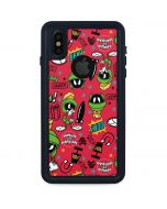 Marvin the Martian Patches iPhone XS Waterproof Case