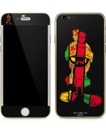 Marvin the Martian Sliced iPhone 6/6s Skin