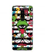 Marvin the Martian Striped Patches Galaxy S9 Plus Skin