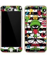 Marvin the Martian Striped Patches iPhone 6/6s Skin