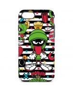 Marvin the Martian Striped Patches iPhone 7 Pro Case