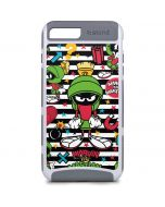 Marvin the Martian Striped Patches iPhone 8 Plus Cargo Case