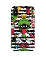 Marvin the Martian Striped Patches iPhone X Pro Case
