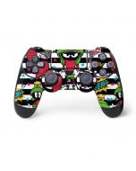 Marvin the Martian Striped Patches PS4 Controller Skin