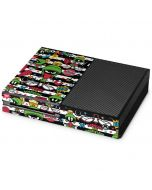 Marvin the Martian Striped Patches Xbox One Console Skin