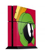 Marvin The Martian Zoomed In PS4 Console Skin