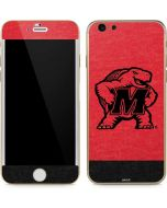 Maryland Terrapins Red Split iPhone 6/6s Skin