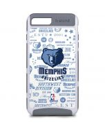 Memphis Grizzlies Historic Blast iPhone 8 Plus Cargo Case