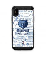 Memphis Grizzlies Historic Blast iPhone XS Max Cargo Case