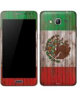 Mexican Flag Dark Wood Galaxy Grand Prime Skin
