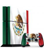 Mexico Flag PS4 Console and Controller Bundle Skin