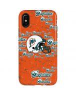 Miami Dolphins - Blast iPhone X Pro Case