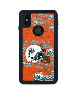 Miami Dolphins - Blast iPhone X Waterproof Case