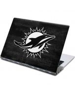 Miami Dolphins Black & White Yoga 910 2-in-1 14in Touch-Screen Skin