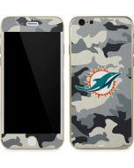 Miami Dolphins Camo iPhone 6/6s Skin