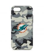 Miami Dolphins Camo iPhone 8 Pro Case