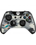 Miami Dolphins Camo Xbox One Controller Skin