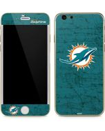 Miami Dolphins Distressed- Aqua iPhone 6/6s Skin