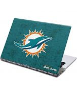 Miami Dolphins Distressed- Aqua Yoga 910 2-in-1 14in Touch-Screen Skin