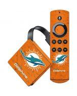 Miami Dolphins Distressed- Orange Amazon Fire TV Skin