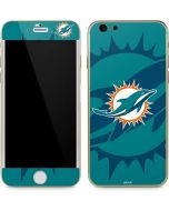 Miami Dolphins Double Vision iPhone 6/6s Skin