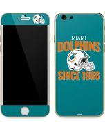 Miami Dolphins Helmet iPhone 6/6s Skin