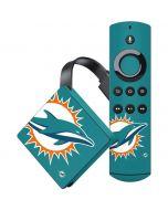 Miami Dolphins Large Logo Amazon Fire TV Skin