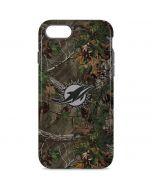 Miami Dolphins Realtree Xtra Green Camo iPhone 8 Pro Case