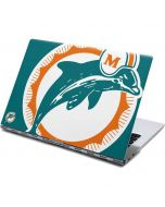 Miami Dolphins Retro Logo Yoga 910 2-in-1 14in Touch-Screen Skin