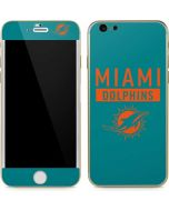Miami Dolphins Teal Performance Series iPhone 6/6s Skin