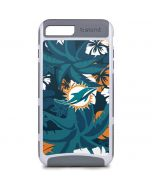 Miami Dolphins Tropical Print iPhone 8 Plus Cargo Case