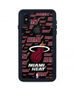 Miami Heat Blast iPhone XS Waterproof Case