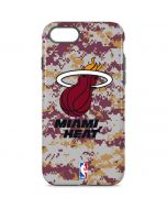 Miami Heat Digi Camo iPhone 8 Pro Case
