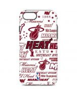 Miami Heat Historic Blast iPhone 8 Pro Case