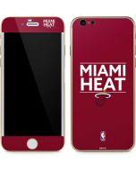 Miami Heat Standard - Red iPhone 6/6s Skin