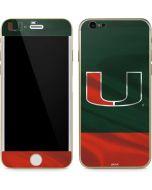 Miami Hurricanes Flag iPhone 6/6s Skin