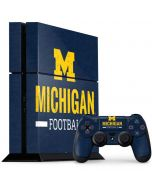 Michigan Football PS4 Console and Controller Bundle Skin