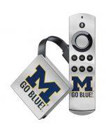 Michigan Go Blue Amazon Fire TV Skin