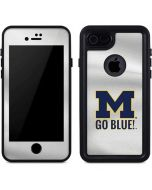 Michigan Go Blue iPhone 8 Waterproof Case