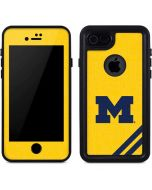Michigan Large Logo iPhone 8 Waterproof Case