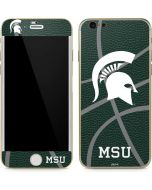 Michigan State University Green Basketball iPhone 6/6s Skin