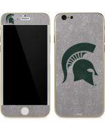 Michigan State University Grey Spartans Logo iPhone 6/6s Skin