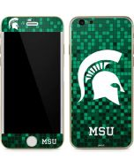 Michigan State Spartans Digital Pixels iPhone 6/6s Skin